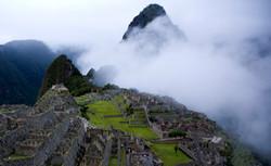 Sun Gate Machu Pichu  Peru