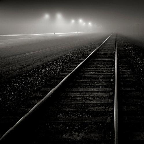 """Foggy Night 36 x 36"""""""