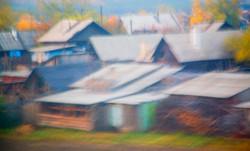 Village Pastel Siberia