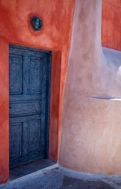 Hockney Santorini