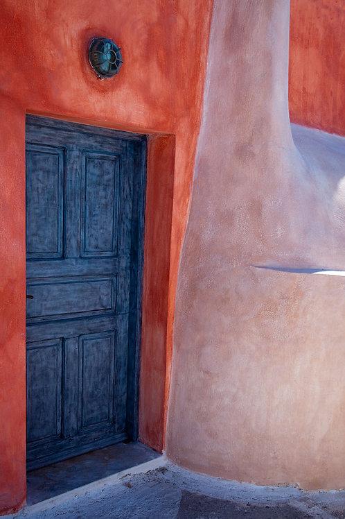 Hockney Santorini