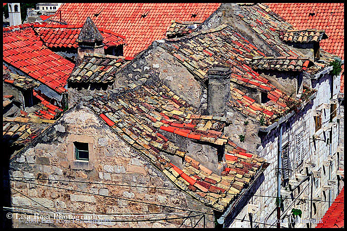 Rooftops Dubrovnik