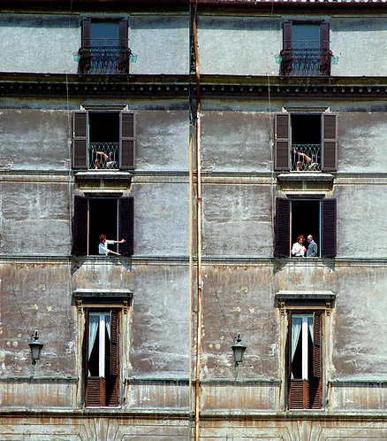 Rear Window Rome