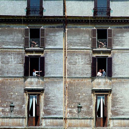 Rear Window Rome
