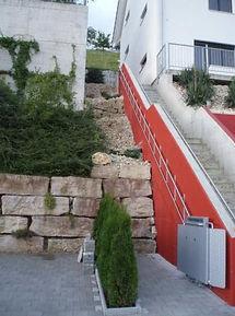 Plattformtreppenlifte lift für außen