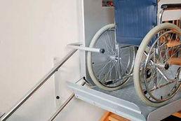 Plattformtreppenlifte für Rollstuhl