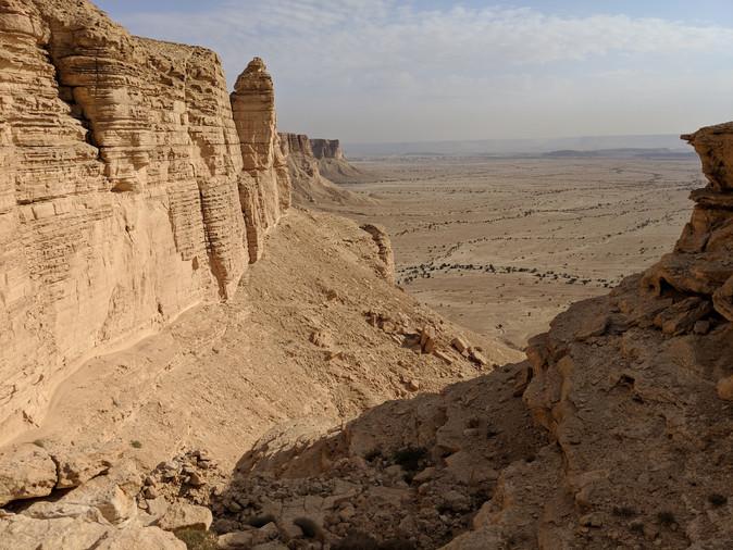 Qiddiya Site Canyons