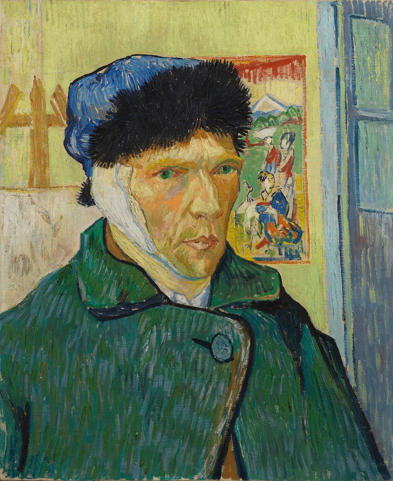 van gogh painting with his ear cut off