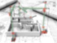 Étude de plan de construction Feng Shui