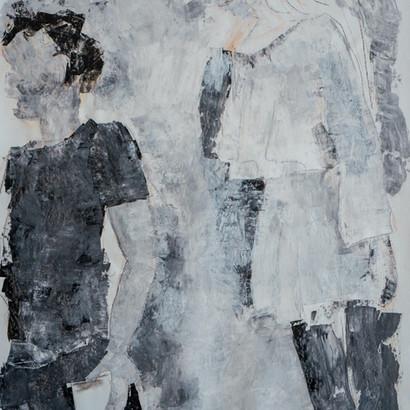 """""""Tokio"""" Acryl auf Leinwand, 90 x 95 cm"""