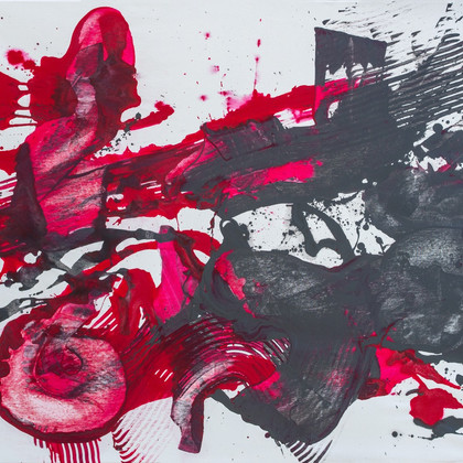 Acryl auf Leinwand, 140 x 110 cm