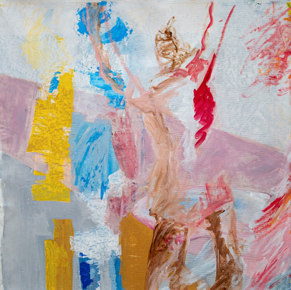 Acryl auf Leinwand, 95 x 95 cm