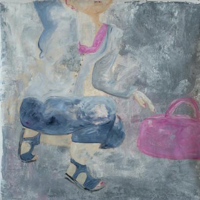 """Paris"" Acryl auf Leinwand, 95 x 95 cm"