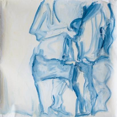 Acryl auf Leinwand, 110 x 110 cm