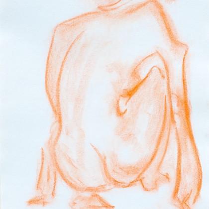 Pastell auf Papier 30 x 42 cm