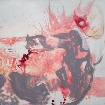 Acryl auf Leinwand, 100 x 80 cm