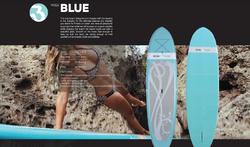 Blue single fin yoga boga USD1,095