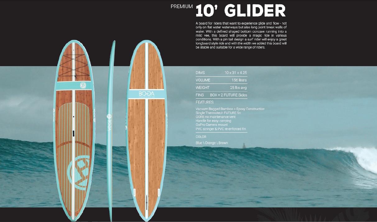 Premium glider bamboo USD1,315
