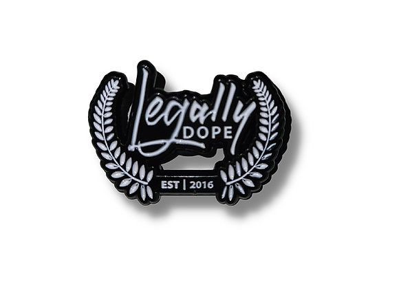 Legally Dope Lapel Pin
