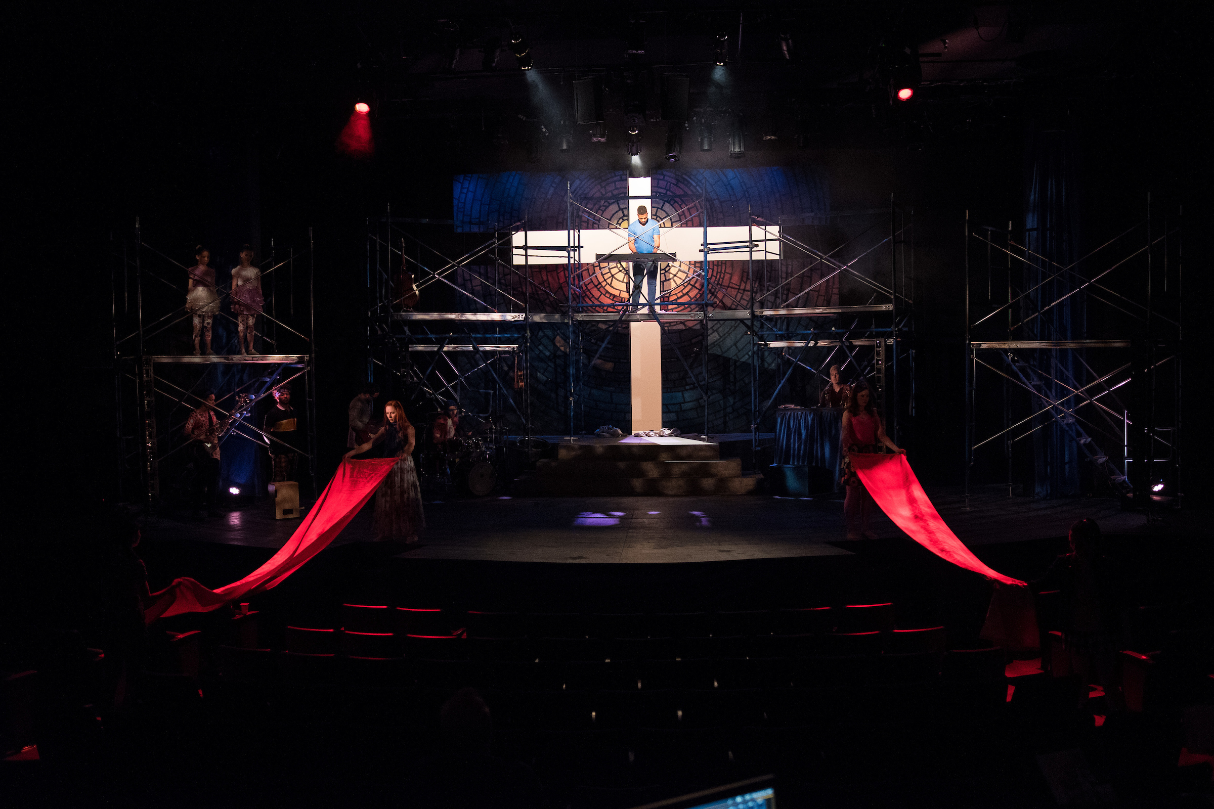 GODSPELL at St. Michael's Playhouse