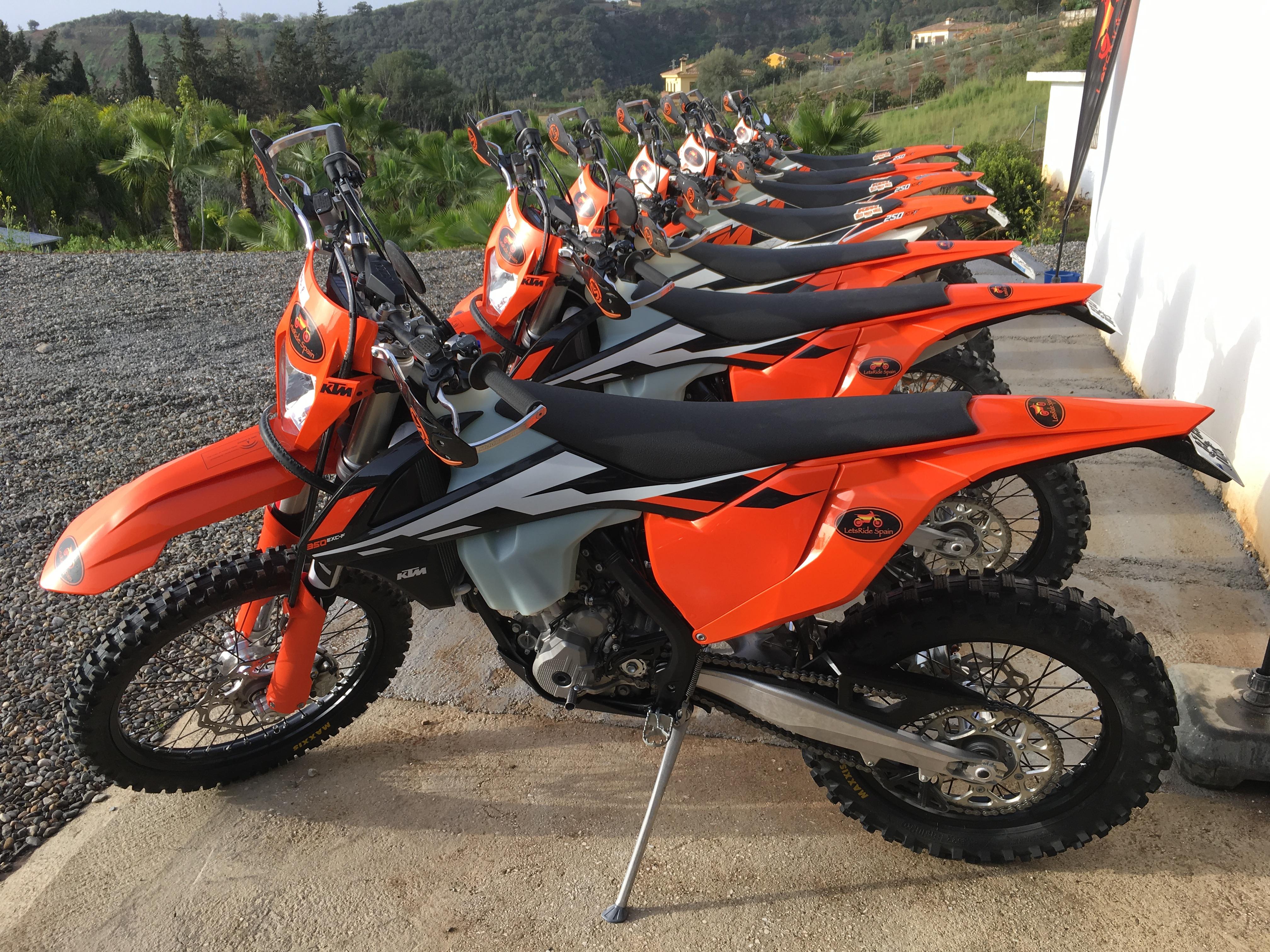 LetsRide Spain KTM Bikes