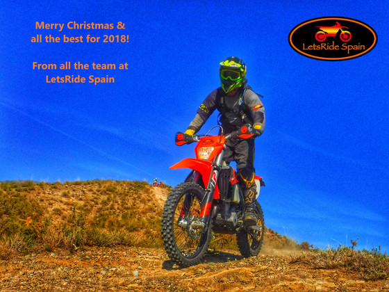 Merry Christmas From LetsRide Spain