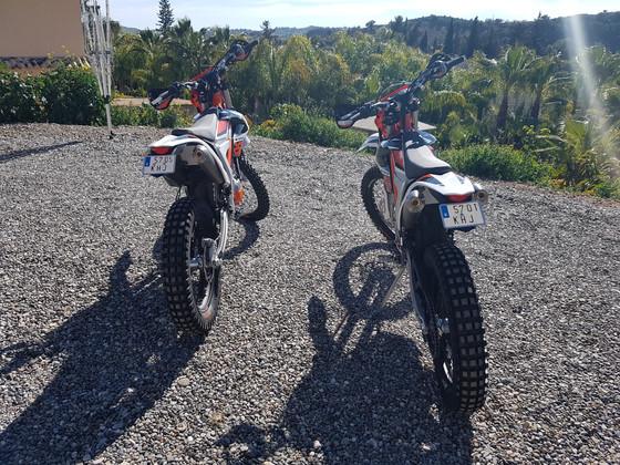 KTM 250 Freerides