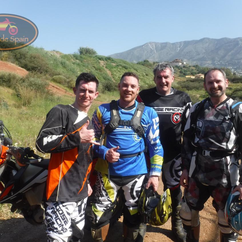 Antony, Rob, Dave & Tom's Tour