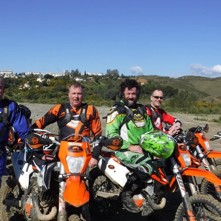 Ian, Simon, Tim, Dave & Nigel's Tour