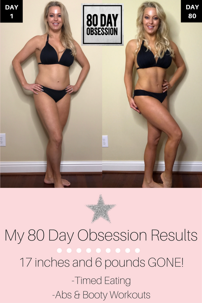 My 80 Day Obsession Journey