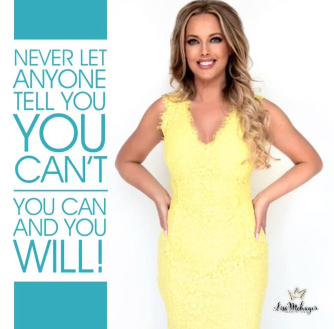 Never let anyone tell you, you can't!!!