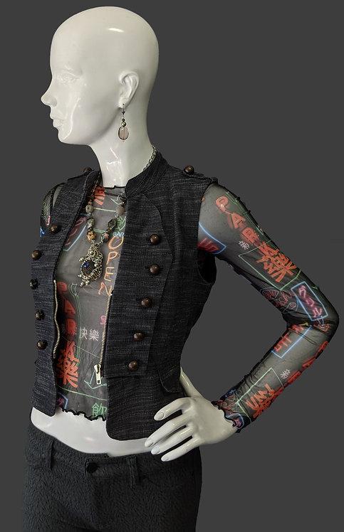 Military Look Vest (S)