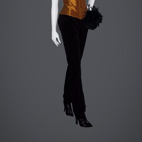 Black Velvet Jeans (4)