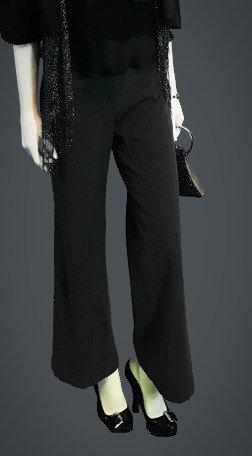 Silver Striped Pants (4)