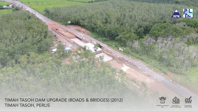 Timah Tasoh Dam Upgrade (Roads & Bridges)