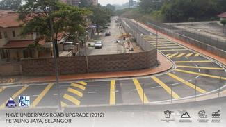 NKVE Underpass Road Upgrade