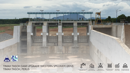 Timah Tasoh Dam Upgrade (Western Spillway)
