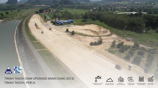 Timah Tasoh Dam Upgrade