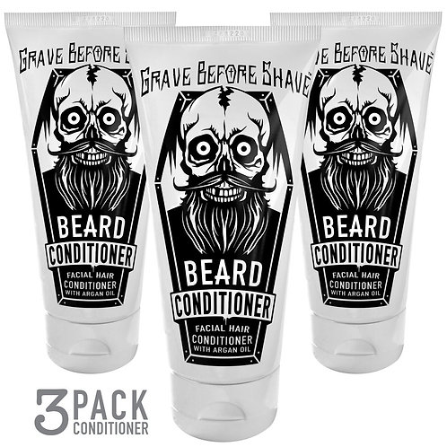 Grave Before Shave Beard Conditioner 3 pack