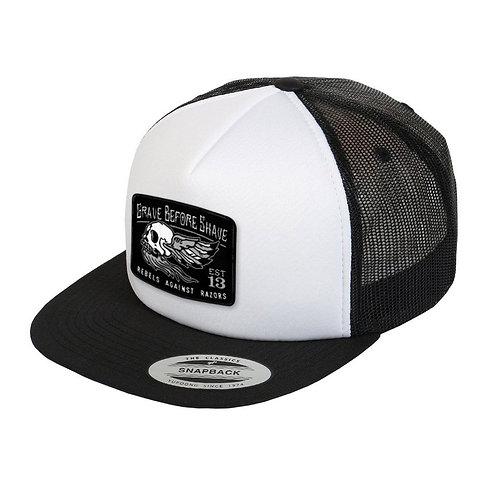 GBS Skull Rebels Against Razors Trucker Hat