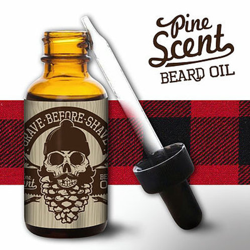 GBS Beard Oil: Pine Scent 1oz