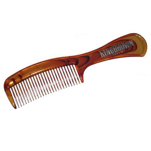 KingBrown Tortoise Handle comb