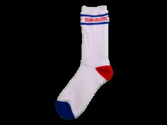 Suavecito Red/white/blue Socks