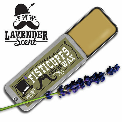 Fisticuffs Moustache Wax: Lavender