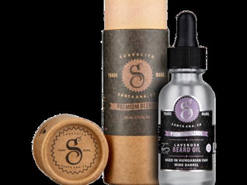 Suavecito Premium Lavender Beard Oil