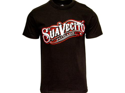 Suavecito OG Black and Red Tee