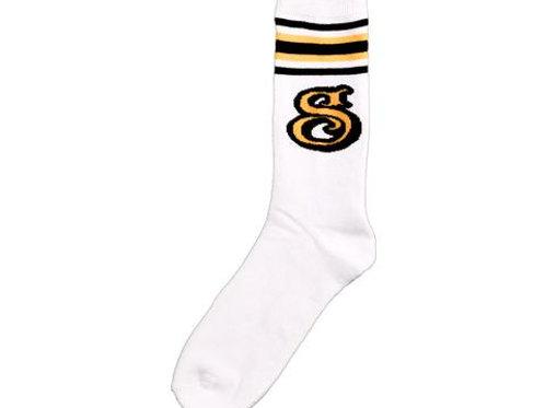 Suavecito Gold & Brown socks