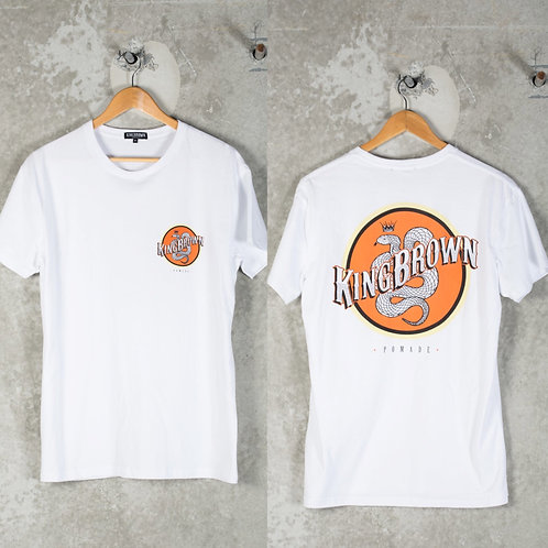 KingBrown - White KB logo