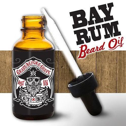 GBS Beard Oil: Bay Rum 1oz