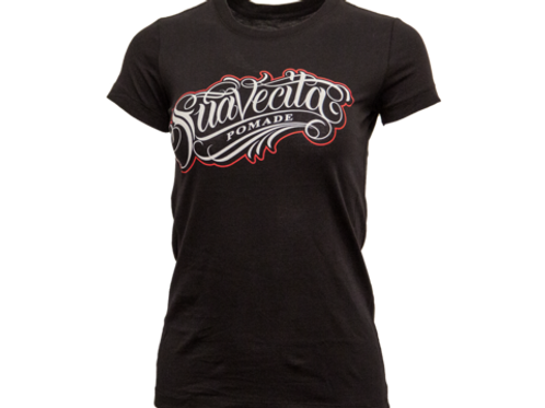 Suavecita Women's OG Black and Red Tee